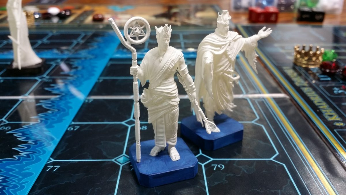 Apsu Engur 3D prototypes